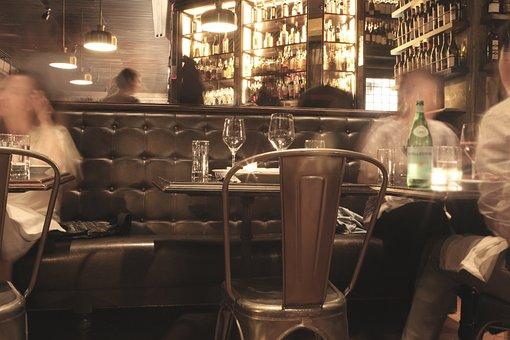 Bar, Lounge, Restaurant, Club, Table, Alcohol, Glass