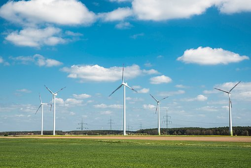 Windräder, Wind Energy, Current, Pinwheel, Wind Power