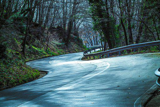 Mountain, Road, Moto, Curves, Italy, Step, Alpine Road