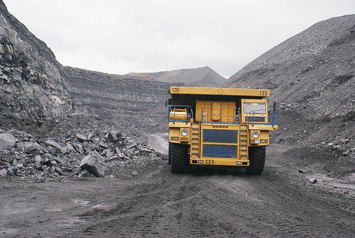 Production, Coal Mining, Minerals, Outdoor Colliery