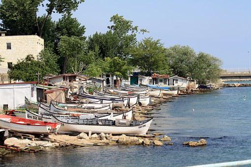 Boats, Fishermen, Balchik, Great