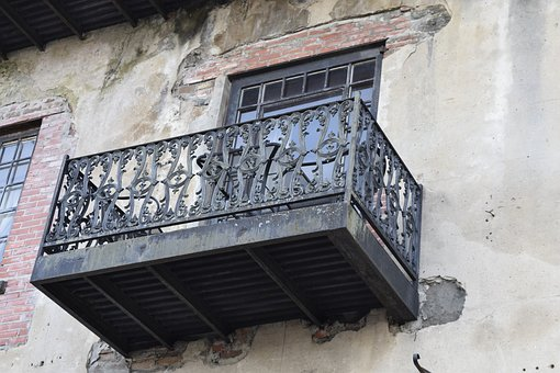 Balcony, Savannah, Metalwork