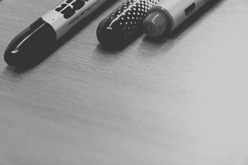Maca, Pen, Blackboard, School, Study, Education, Desk