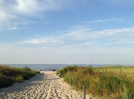 Usedom, Baltic Sea, Summer, Island Of Usedom, Island