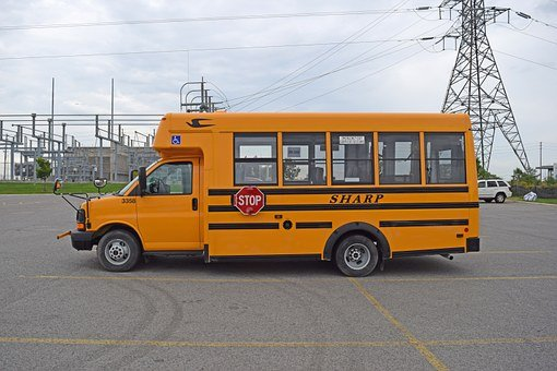 School Bus, Orange, Bus, School, Transport, Education
