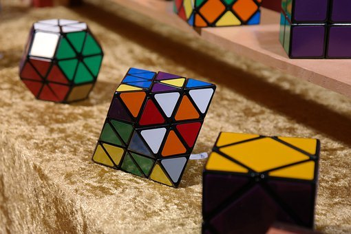 Magic Cube, Patience Games, Puzzle, Tricky, Toys