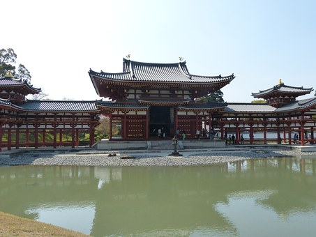 Kyoto, Byodoin Temple, Temples And Shrines
