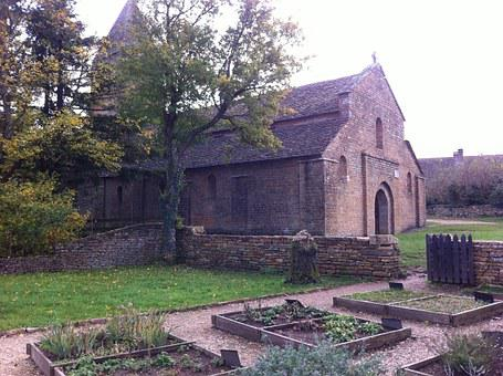 Brancion, Burgundy, Church