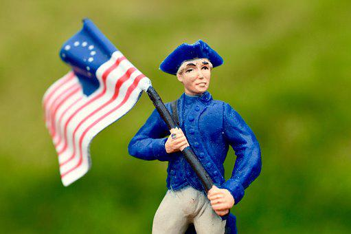 Union Soldier, Flag, America, Military, Usa, History