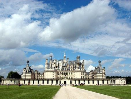Castles, Chambord Castle, Chambord, France