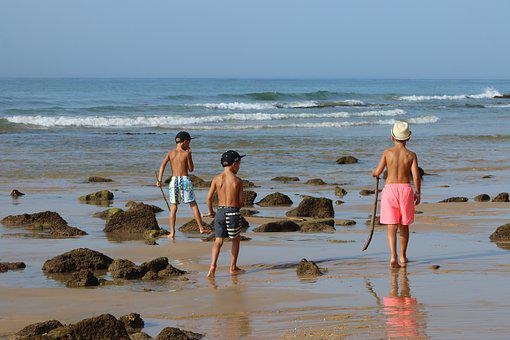 Explorers, Mar, Children Playing, Child Playing