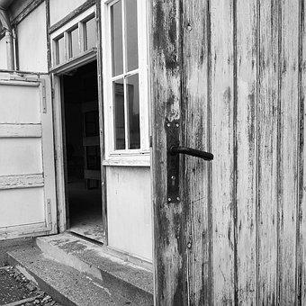 Door, Handle, Wood, Door Handle, Antiquity, Old, House