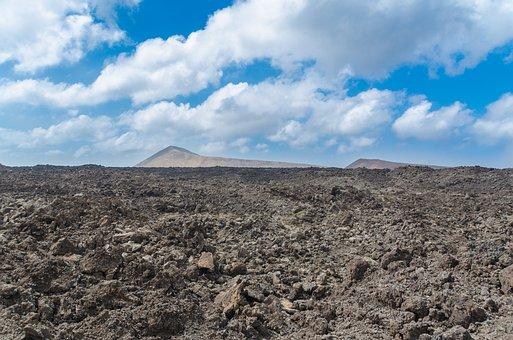 Lava, Field, Lava Field, Tinguato, Tinguatón, Lanzarote