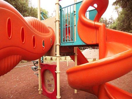 Slide, Child's Play, Child, Fun, Amusement Park, Games