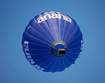 Balloon, Hot, Air, Anana, Hot Air Balloon, Lift, High