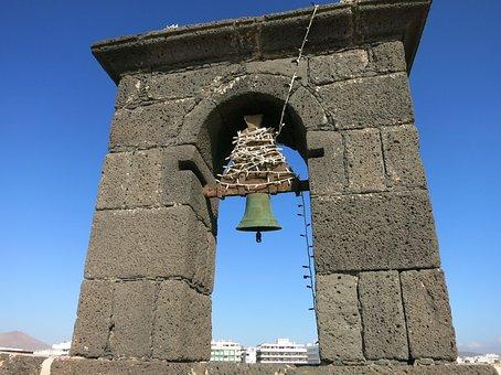 Lanzarote, Arrecife, Castle, Bell Tower