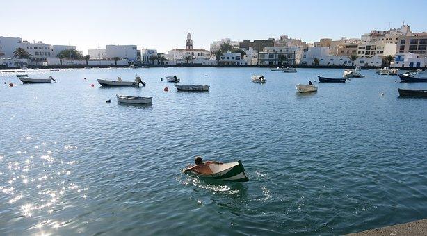 Lanzarote, Port, Boats, Arrecife