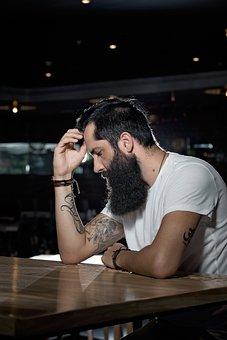 Beards, Life, Man, Bearded Man, Tattoos, Skin, Adult