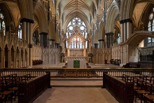Lincoln Cathedral, Altar, Communion Rail