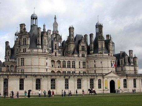 Castle, Chambord, Loira, France