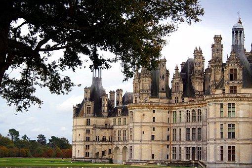 France, Château De Chambord, Loire Valley