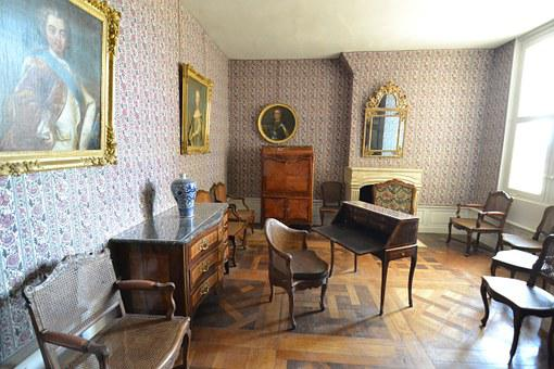 Office, Cabinet, Inside The Castle, Apartment Royal