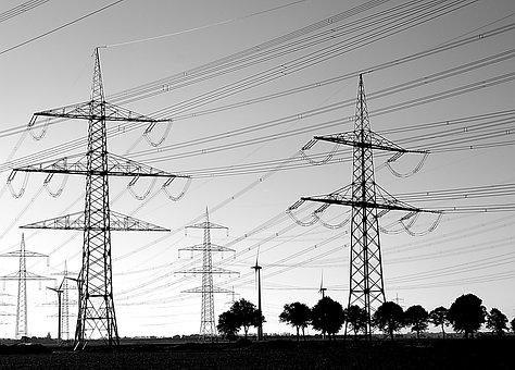 Power Poles, Current, Power Line, Electricity, Energy