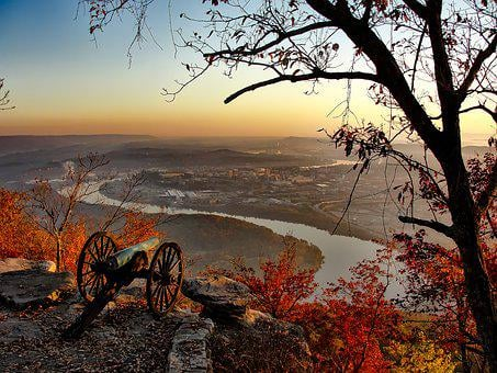 Chattanooga, Tennessee, City, Cities, Urban, View, Hdr