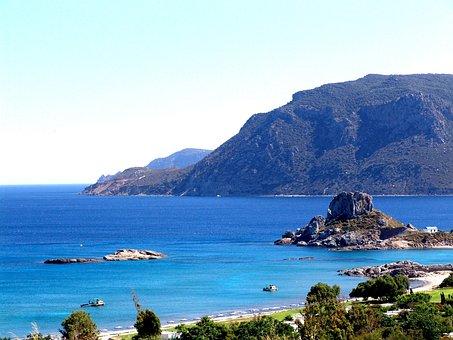 Greece, Kos Island, Blue Bay
