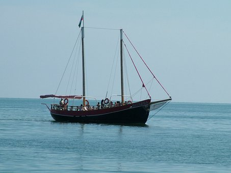Balchik, Boat, Vessel, Bulgaria, Sea, Black Sea
