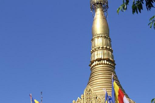 Golden, Temple, Bandarban