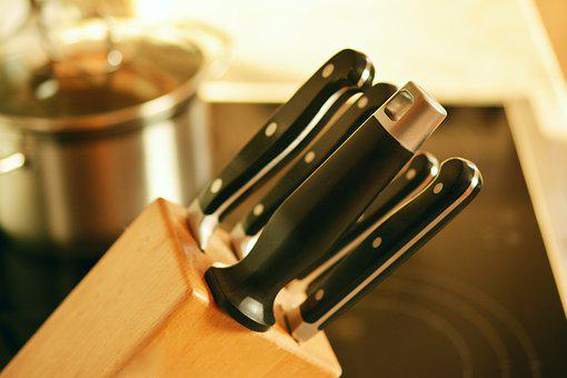 Knife Block, Knife, Kitchen, Cook, Budget, Handle