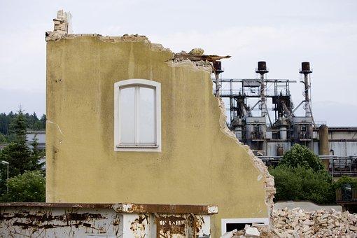 Demolition, Demolition Work, Building Rubble