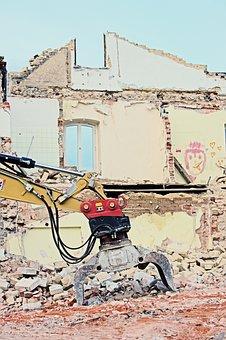 Demolition, Demolition Excavator, Demolition Work