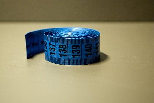 Meter, Measure, Centimeters, Gage, Blue