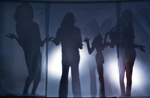 Girl, Back Light, Silhouette, Uncertain, Uncertainty