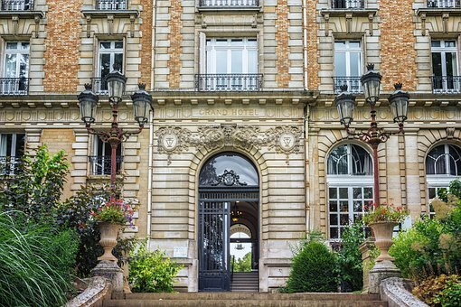 Hotel, France, Vittel, Grand Hotel, Architecture