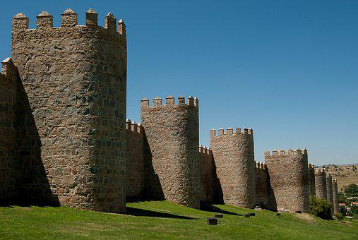 Spain, Avila, Ramparts, Fortification, Tours