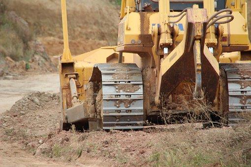 Excavators, Site, Construction Vehicle, Dredge