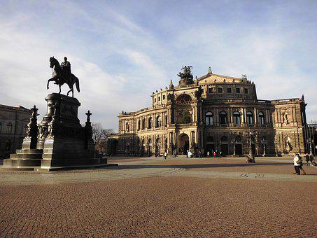 Dresden, Building, Architecture, Old Town