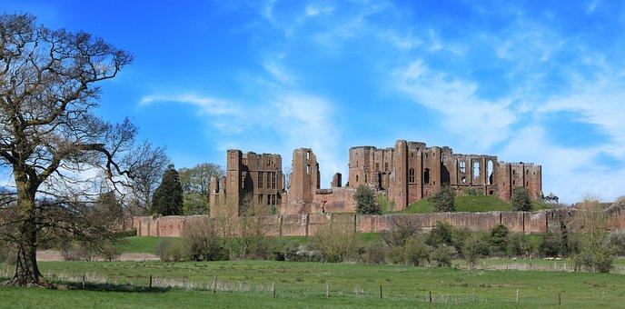 Castle, Kenilworth, Old, Medieval, England