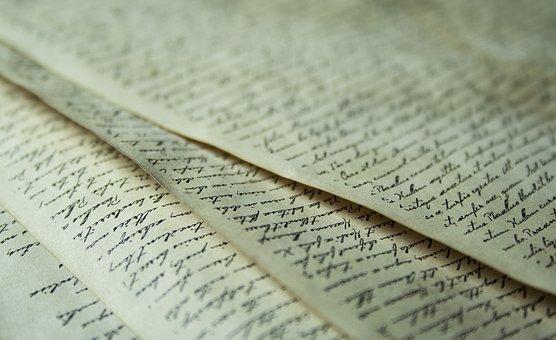 Paper, Leaf, Font, Old, Antique, Leave, Letters, Text