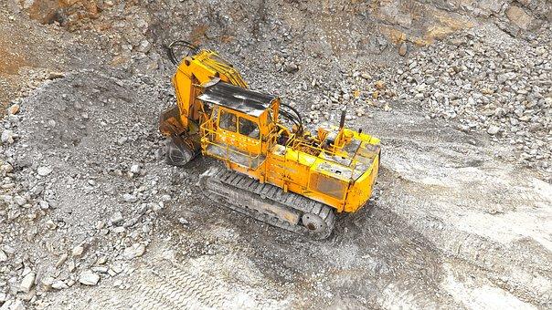 Excavators, Blade, Backhoe Bucket, Machine
