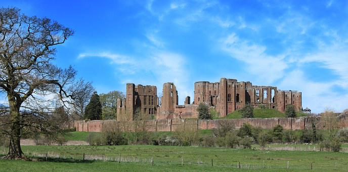 Castle, Kenilworth, Old, Medieval, England