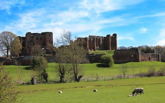 Castle, Kenilworth, Kenilworth Castle, Old, Medieval