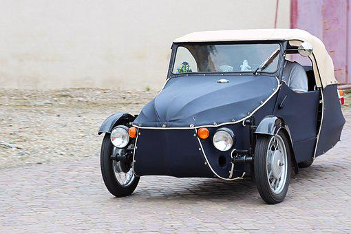 Velorex, Os-kar, Tricycle, Auto, Old, Historically