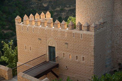 Spain, Segovia, Castle, Ramparts, Tower