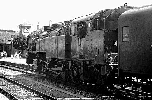 Locomotive, Steam, Steam Train, Steam Locomotive, Track
