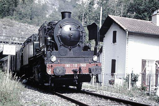 Locomotive, Steam, Track, Train, Steam Train
