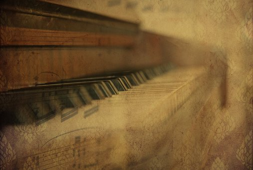 Texture, Background, Piano, Instrument